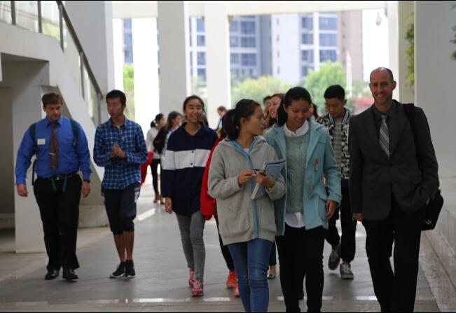 美國大學國際教育聯盟(USCIE)國際部主任及招生官員到訪我校3.jpg