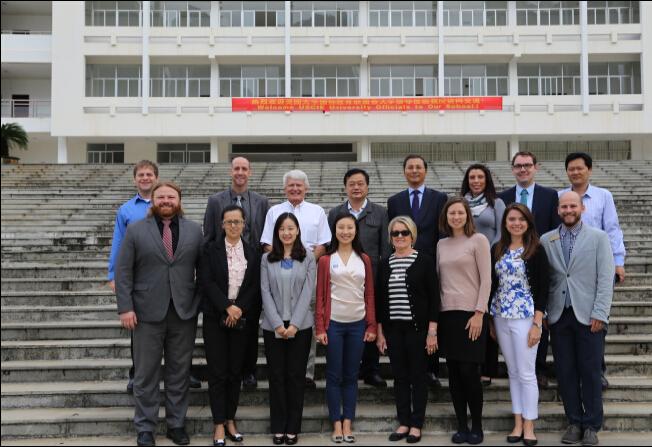 美國大學國際教育聯盟(USCIE)國際部主任及招生官員到訪我校1.jpg